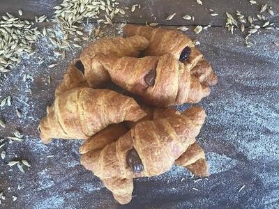 Brioches con farina di Farro  e cioccolato (5 pezzi)