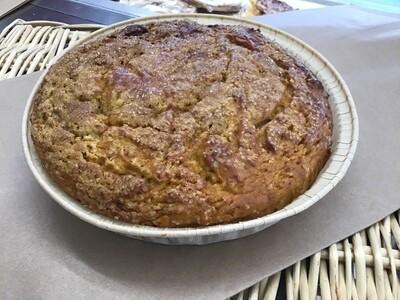 Torta di Zucca e Noci con  farina integrale macinata a pietra