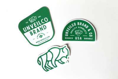 UnveilCo STICKER Set