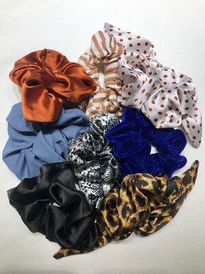 3 Scrunchies- SOLD OUT