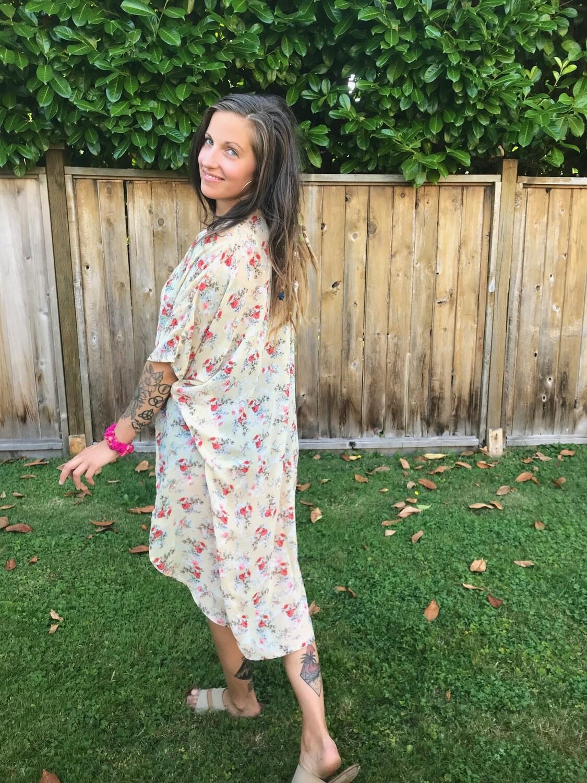 Flower Bundle Kimono