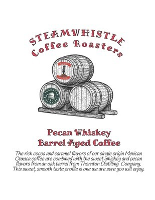 Pecan Whiskey Barrel Aged