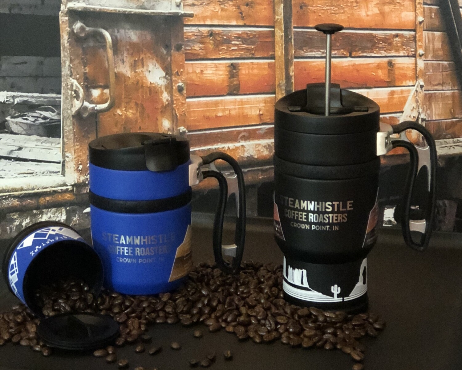 Double Shot French Press