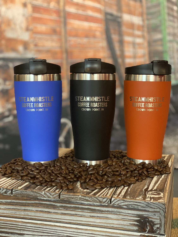 Steamwhistle Travel Mugs