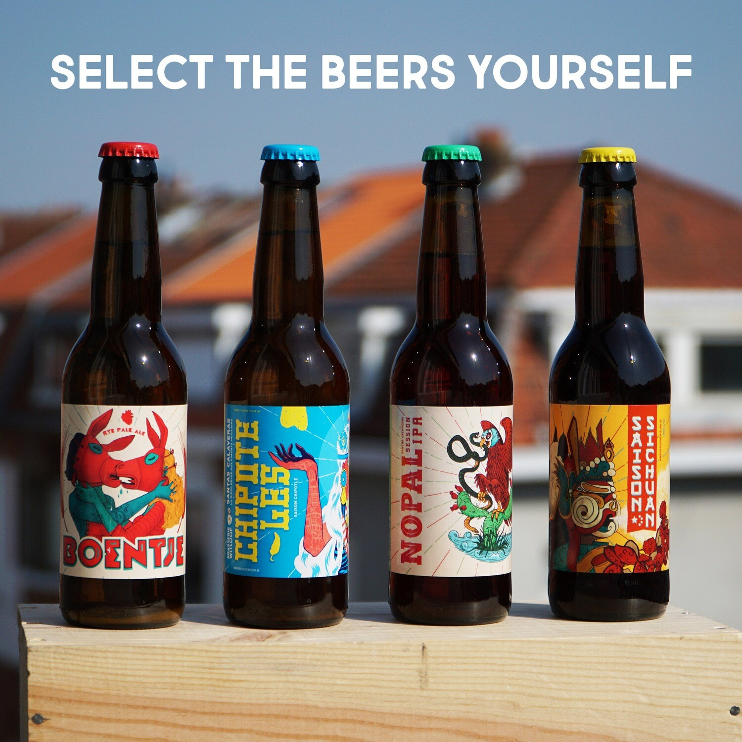 SELECT THE BEERS YOURSELF 24 x 33cl