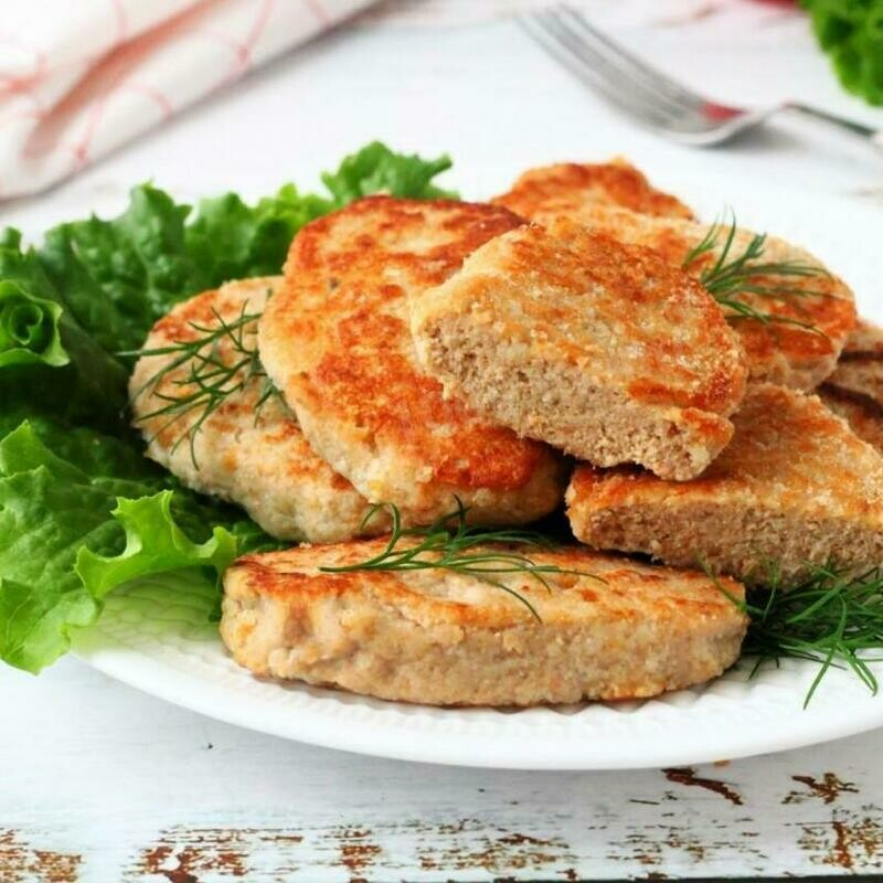 HOMEMADE CUTLET (SALMON)