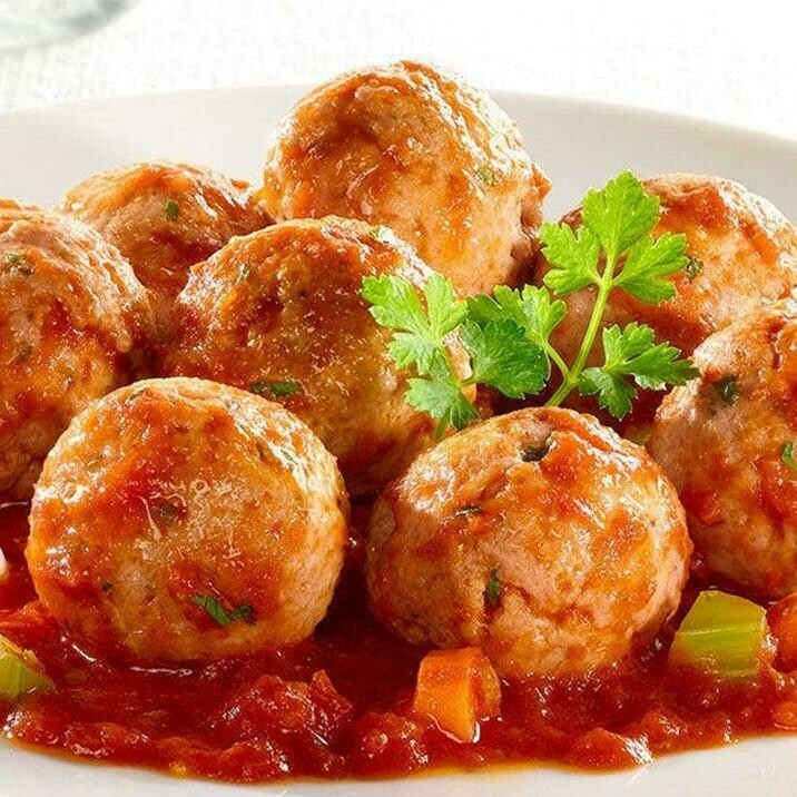 MEATBALLS WITH RICE (PORK)