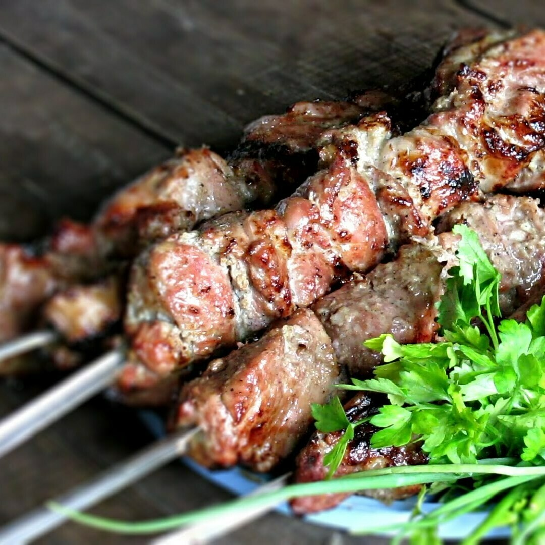 MEAT FOR SHASHLIK IN MARINADE (PORK)