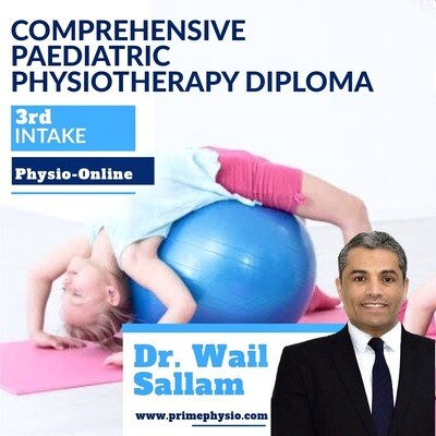 Comprehensive Paediatric physiotherapy Diploma. Register and start learning today