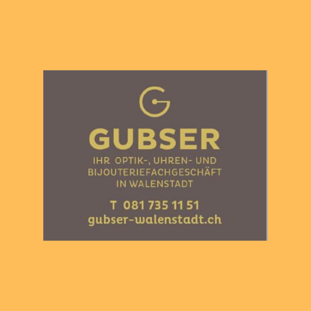 Gutschein Gubser Optik, Uhren und Bijouterie