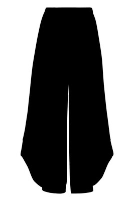 Alembika black knit punto pant