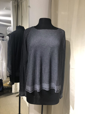 Hannes Roether Charcoal Sweater