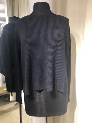 Hannes Roether Black Sweater