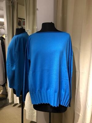 Planet Blue Boatneck Rib Sweater
