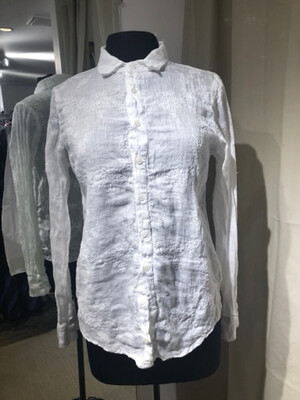 CP Shades White Embroidered Shirt