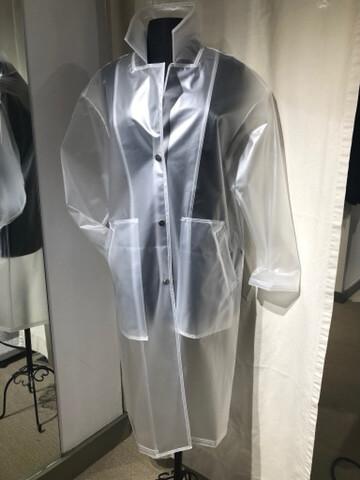 French Translucent Rain Coat