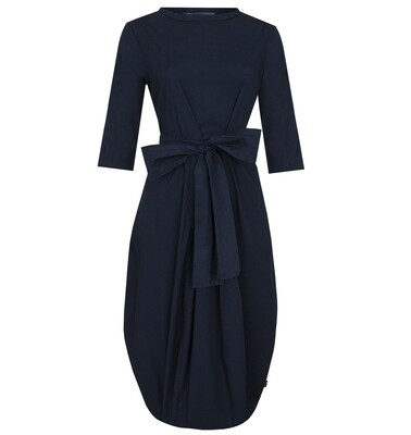 Elemente Clemente Navy Cotton Teru Dress