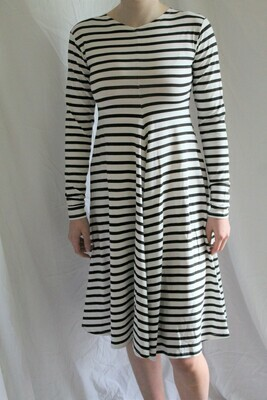 Matthildur Stripe Longsleeve Dress