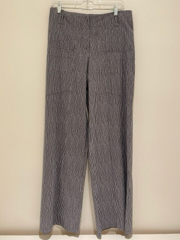 Heart Triangle Gray Stripes Trousers