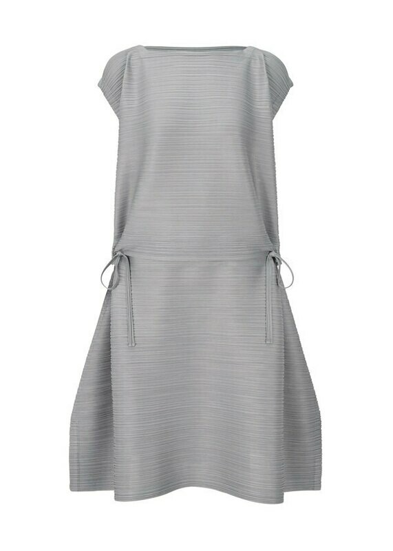 Pleats Please by Issey Miyake Stone Gradation Dress
