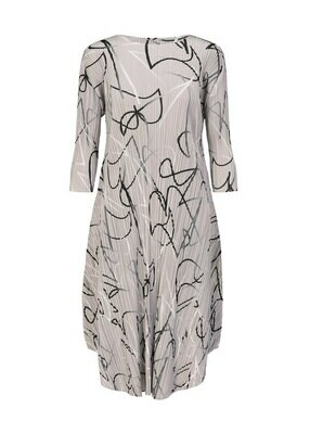 Issey Miyake Pleats Please Conductor Dress