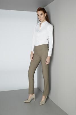 Lisette Mushroom Slim Pants