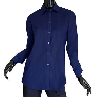 Ameliora Sullivan Navy Shirt