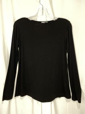 Annie Turbin Black Longsleeve Tshirt