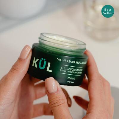 KUL Skincare Night Repair Moisturizer