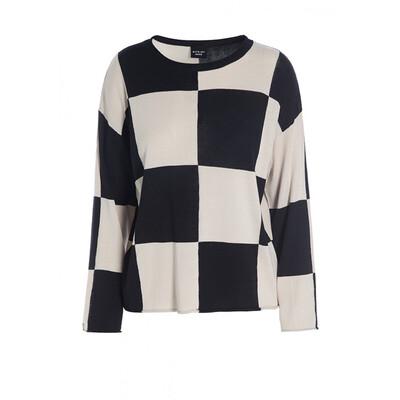 Bitte Kai Rand Black Check Sweater