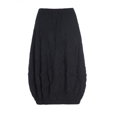 Bitte Kai Rand Black Textured Bubble Skirt