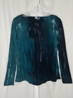 Annie Turbin Teal Longsleeve Tshirt