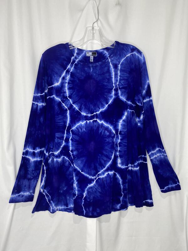 Annie Turbin Blue Agate Center Seam Tunic