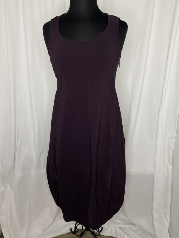 Studio Rundholz Merlot Structured Paneled Dress