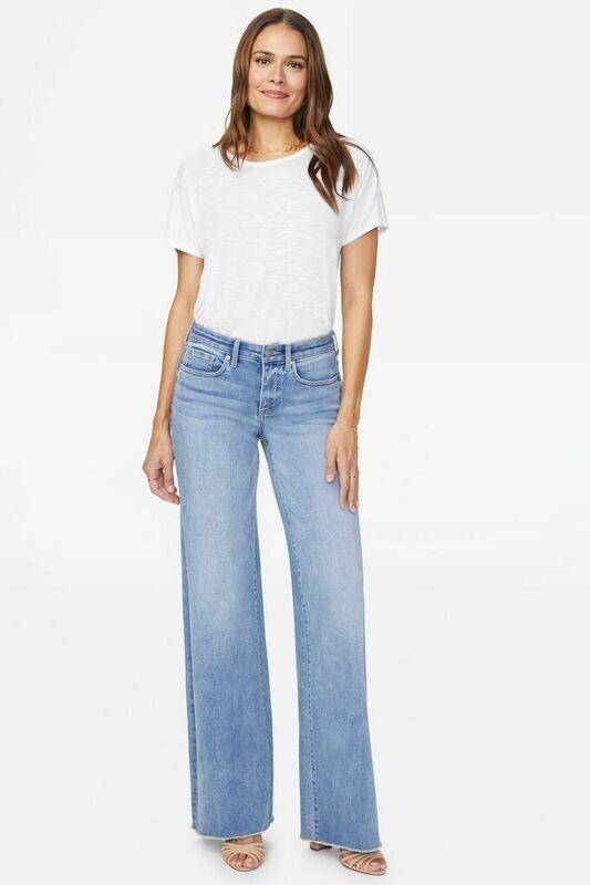 NYDJ Teresa Wide Leg Jeans