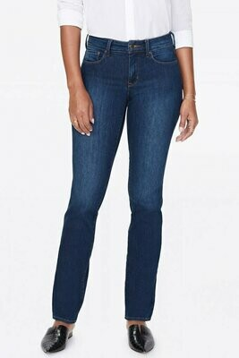 NYDJ Dark Wash Marilyn Straight Jeans