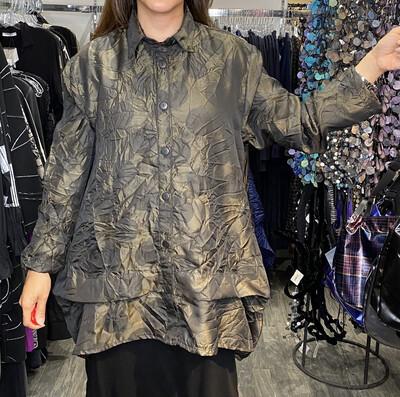 Dress To kill Olive Circles Shirt