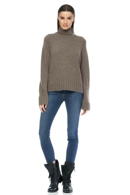 360 Cashmere Porcupine Leighton Sweater