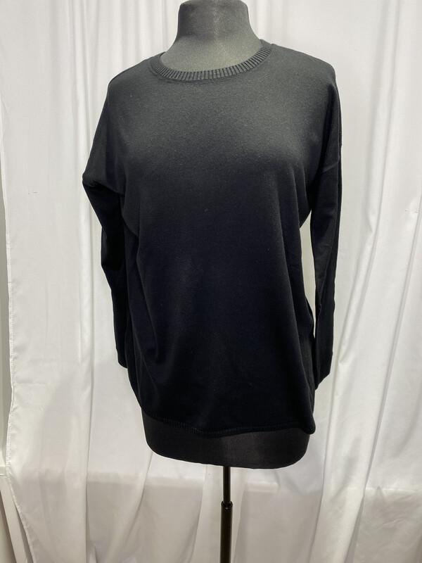 Elliot Lauren Black Cotton Sweater