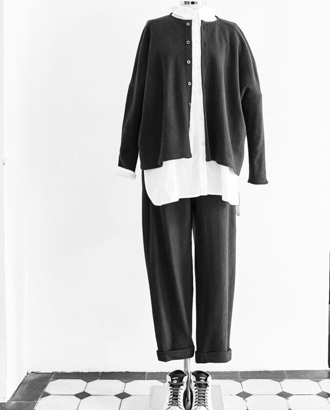 Elemente Clemente Black Wool Jacket