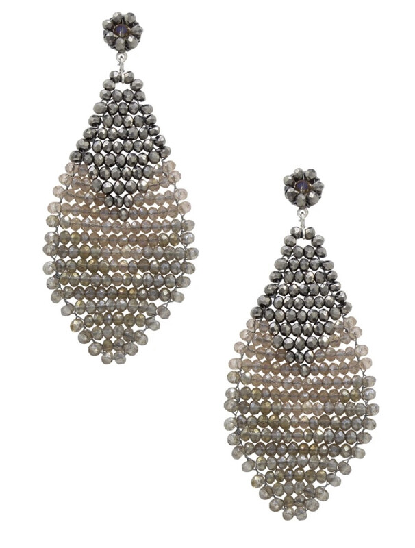 Millianna Champagne Geta Petite Earrings