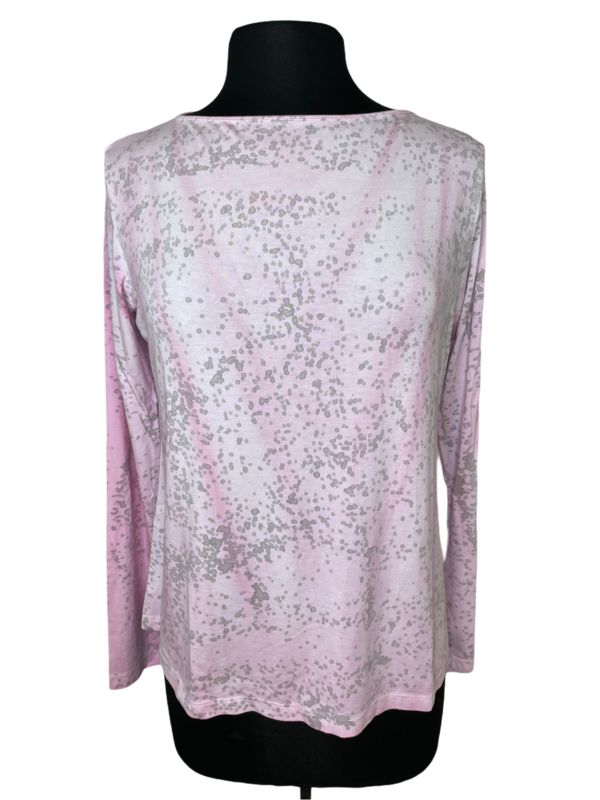Annie Turbin Pink And Gray Tshirt