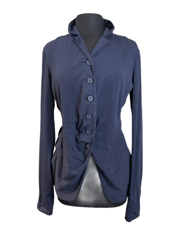 Studio Rundholz Martinique Scallop Front Shirt Jacket