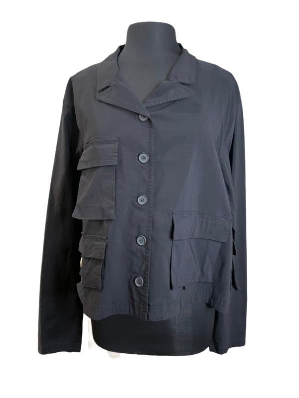 Studio Rundholz Black Pockets Jacket