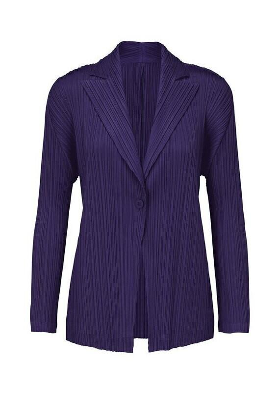 Pleats Please by Issey Miyake Purple Jacket