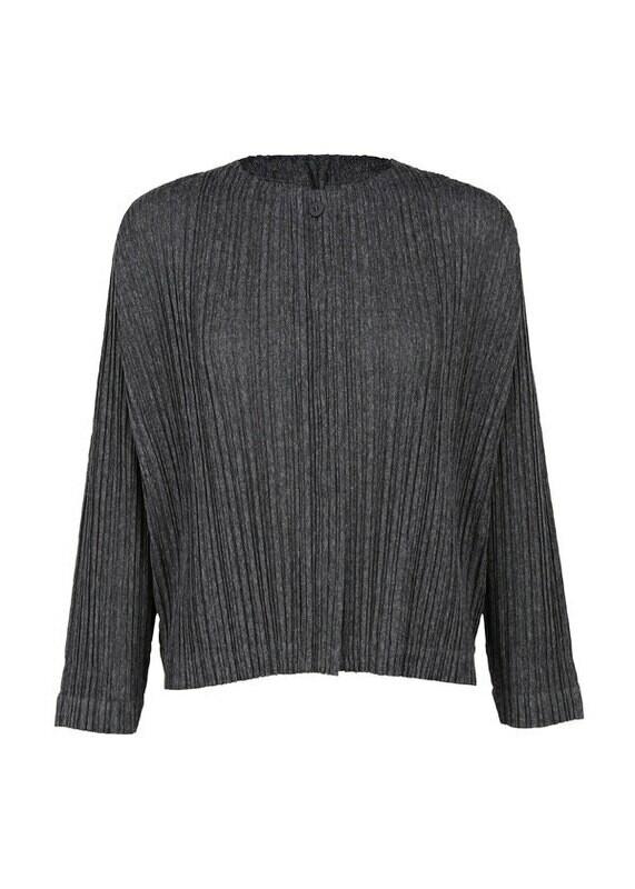 Pleats Please by Issey Miyake Ramie Pleats Jacket
