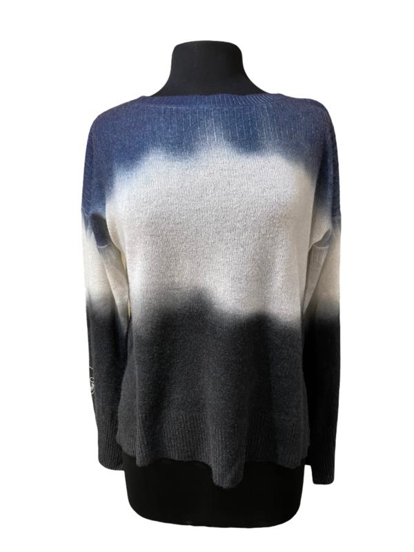 360 Cashmere Dip Dye Sweater