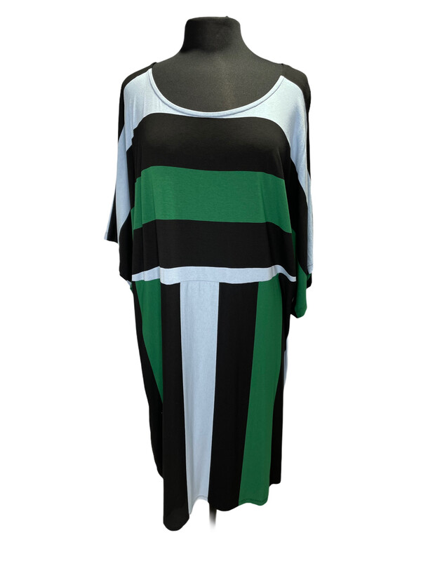 Alembika Multi Stripe Big Easy Dress