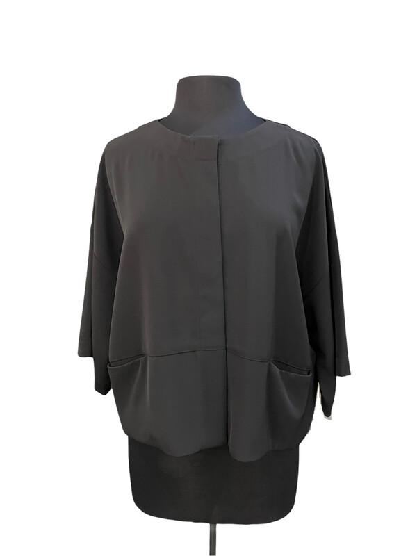 Bitte Kai Rand Black Crepe Jacket