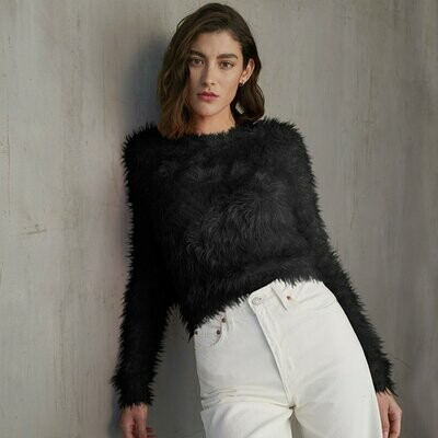 Autumn Cashmere Fluffy Sweater